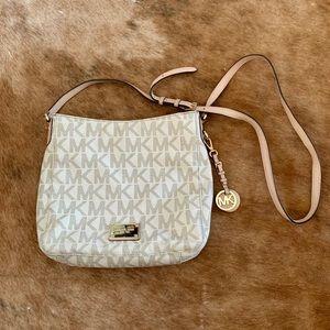 AUTHENTIC Michael Kors Monogram Crossbody Bag